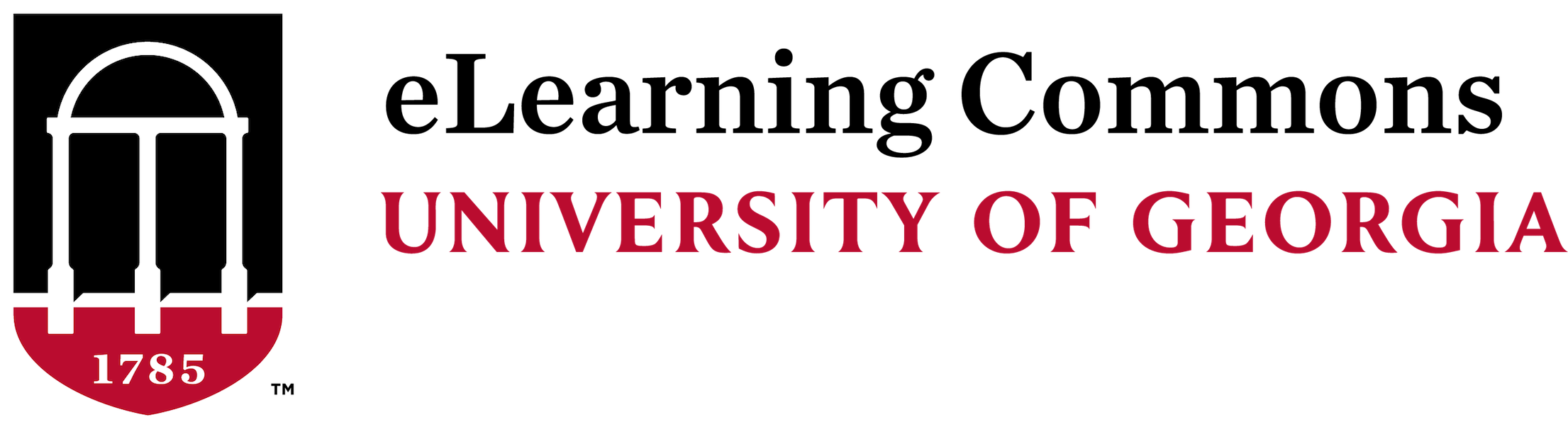 eLearning Commons Help at UGA Logo